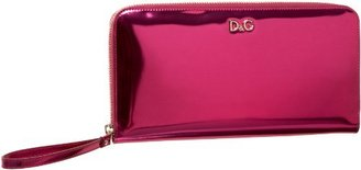 D&G Dolce & Gabbana Medium Mindy Metallic Clutch