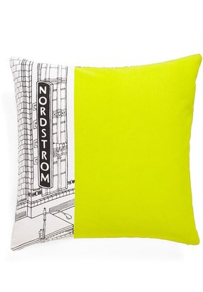 Nordstrom at Home Heritage Collection 'Seattle Flagship Storefront' Pillow