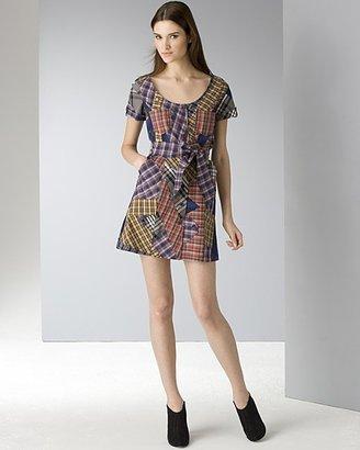 Francis Women's Patchwork Plaid Dress