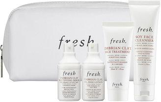 Fresh Umbrian Clay Mattifying Skincare Set