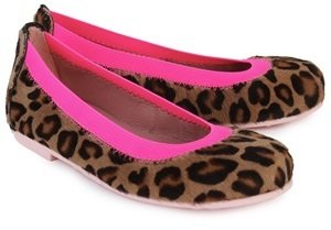 Pretty Ballerinas Leopard Ballet Pumps