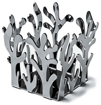 "Alessi Mediterraneo"" Tealight Holder, Stainless Steel"