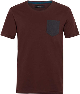 Topman Selected Homme 'Soldier' T-shirt