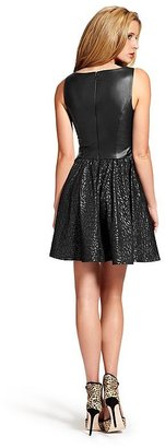 GUESS by Marciano Rosetta Fit-and-Flare Dress