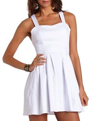 Charlotte Russe Bow Back Millennium Dress