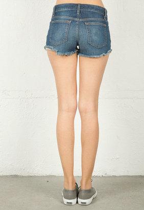 Joe's Jeans High Rise Cut Off Short in Tibbie -