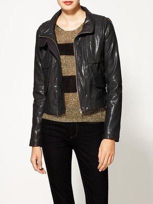 Ark & Co. Vegan Leather Jacket
