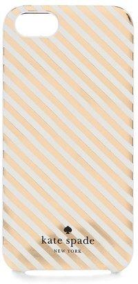 Kate Spade Diagonal Stripe iPhone 5 / 5S Case