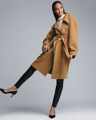 The Row Brushed Twill Coat