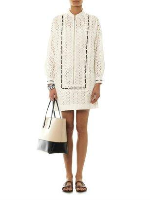 See by Chloe San Gallo ribbon-trim dress