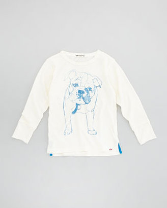 Appaman Bulldog Sketch Graphic Tee