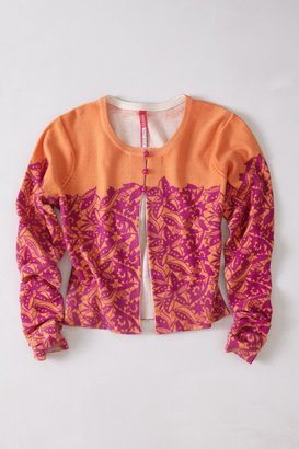 Anthropologie Sparked Lace Cardigan