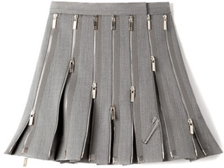 Thom Browne M'O Exclusive: Wool Zipped Kilt