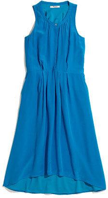 Madewell Silk Waterfall Dress
