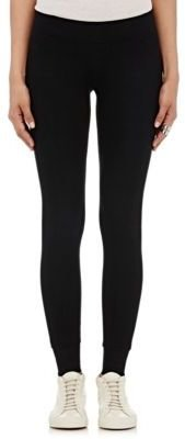 ATM Anthony Thomas Melillo Women's Rib-Knit Yoga Pants-BLACK $195 thestylecure.com
