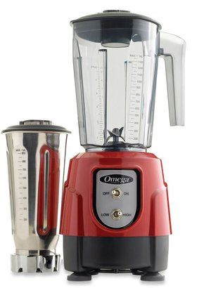 Omega BL390 Blender Tritan Container Combo Pack in Red