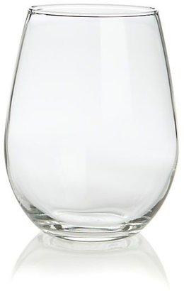 Crate & Barrel Set of 12 stemless white wine glasses. 11.75 oz.