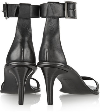 Tibi Ivy buckled leather sandals