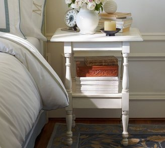 Pottery Barn Emma Spindle Bedside Table