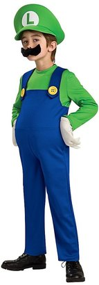 Rubie's Costume Co Super Mario Brothers Deluxe Luigi Costume