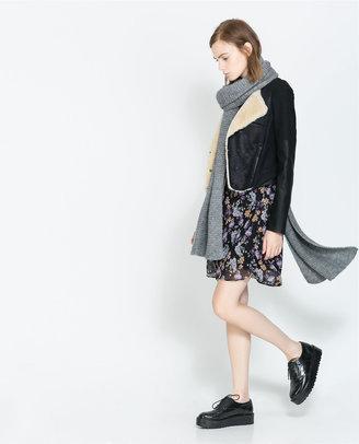 Zara Combined Crop Jacket