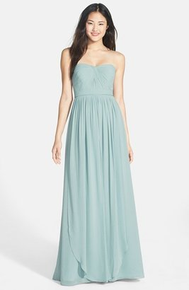 Women's Jenny Yoo 'Aidan' Convertible Strapless Chiffon Gown $170.98 thestylecure.com