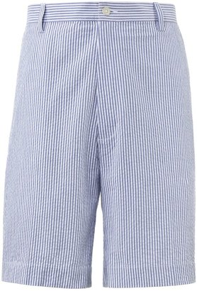 Jos. A. Bank Stays Cool Cotton Plain Front Seersucker Shorts