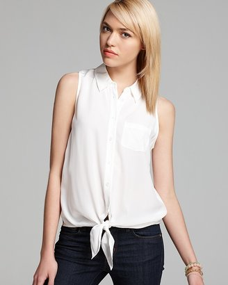 Equipment Blouse - Mina Tie Front