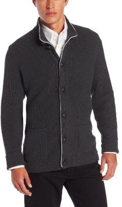 Nautica Men's Button Front Cardigan