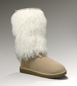 UGG Womens Tall Sheepskin Cuff Boot