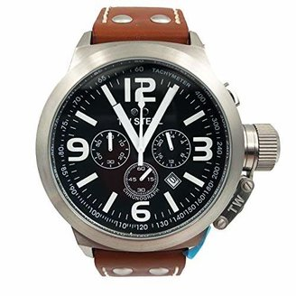 TW Steel Men's TW6 Canteen Dial Chronograph Watch