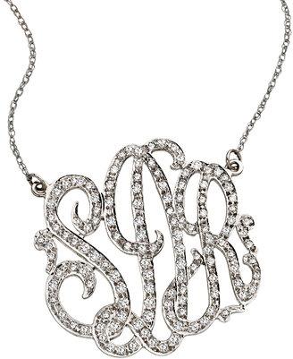 West Avenue Jewelry 15 Carat Diamond Monogram
