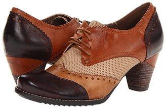 L'Artiste by Spring Step Bardot (Brown) High Heels