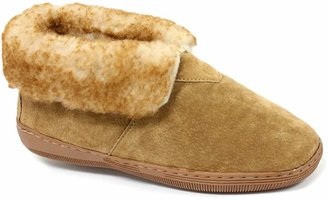 Lamo Men's Suede Bootie Slippers