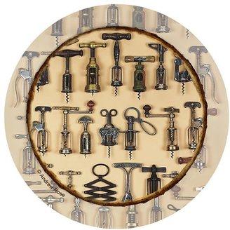 Thirstystone vintage corkscrews 4-pc. coaster set