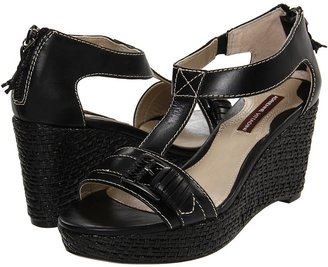 Adrienne Vittadini Cliff (Black Waxy Calf) - Footwear
