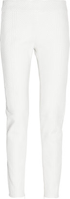 Alexander McQueen Cropped quilted leather pants