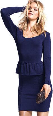 Victoria's Secret Scoopneck Peplum Dress