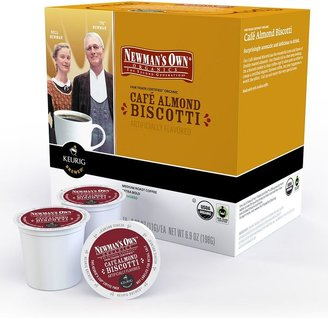 Keurig k-cup ® portion pack newman's own cafe almond biscotti coffee - 18-pk.