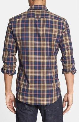 HUGO BOSS 'Ronny' Plaid Sport Shirt
