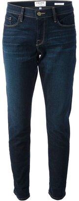 Frame 'Le garçon' cropped jeans