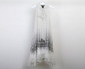 Thomas Wylde The Queen Chiffon Dress