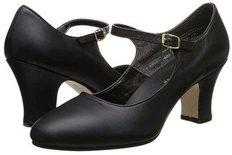 Capezio Manhattan Character Shoe (Black) Women's Tap Shoes