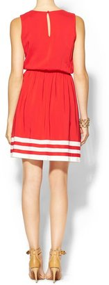 Pim + Larkin Border Stripe Dress