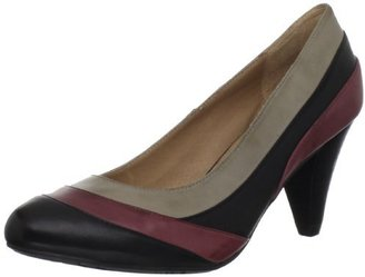Chocolat Blu Women's Otto Pump,Black Combo Leather,9 M US