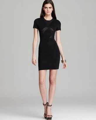 French Connection Dress - Montana Knit Perforated