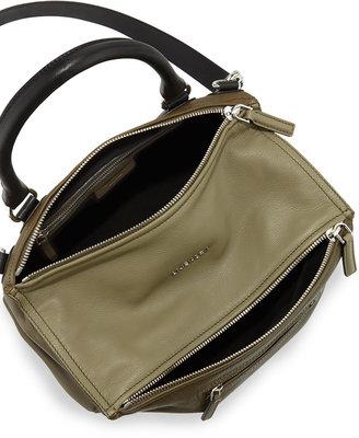 Givenchy Pandora Medium Tricolor Shoulder Bag, Khaki/Multi