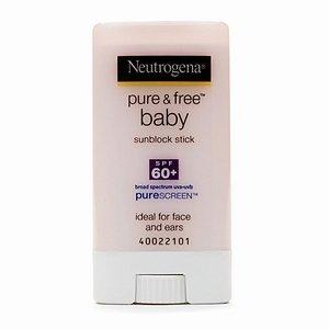 Neutrogena Pure & Free Baby Sunblock SPF 60+, Stick