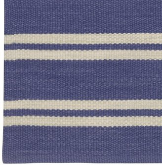 Williams-Sonoma Recycled Yarn Nautical Stripe Rug
