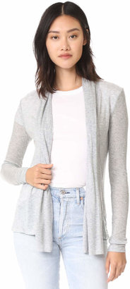 Three Dots Long Sleeve Open Cardigan $98 thestylecure.com